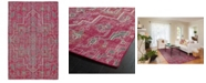Kaleen Relic RLC01-92 Pink 4 'x 6' Area Rug