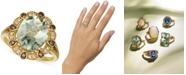 Le Vian Mint Julep Quartz (3-3/4 ct. t.w.) & Diamond (1/5 ct. t.w.) Ring in 14k Gold