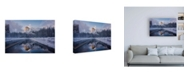 "Trademark Global Bruce Gett Roadside Reflection 2 Canvas Art - 15.5"" x 21"""