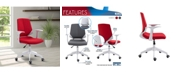 RTA Products Techni Mobili Mid Back Chair