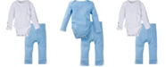 Miracle Baby Boys and Girls Long Sleeve Bodysuit and Pant Outfit