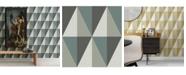 """A-Street Prints 20.5"""" x 396"""" Aspect Geometric Wallpaper"""