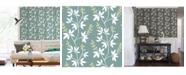 "A-Street Prints 20.5"" x 396"" Linnea Elsa Botanical Trail Wallpaper"