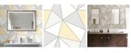 "Advantage 20.5"" x 369"" Apex Geometric Wallpaper"