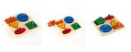 Guidecraft, Inc Guidecraft Geo Puzzle Board