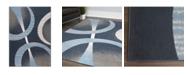 "Global Rug Designs Global Rug Design Loma LOM02 Dark Blue 7'8"" x 10'7"" Area Rug"