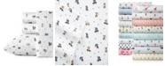 Poppy & Fritz Skateboarding Bulldogs Queen Sheet Set