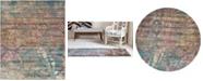 Bridgeport Home Aroa Aro2 Teal Area Rug Collection