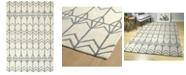 "Kaleen Origami ORG05-01 Ivory 3'6"" x 5'3"" Area Rug"