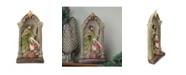 """Northlight 14.5"""" Holy Family and Angel Figures Christmas Nativity Statue Decor"""