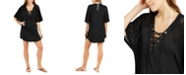 Dotti Resort Lace-Up Tunic Cover-Up