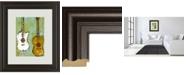 "Classy Art Six Strings III by Deann Herbert Framed Print Wall Art, 34"" x 40"""