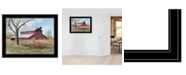 """Trendy Decor 4U Summer's End by Billy Jacobs, Ready to hang Framed Print, Black Frame, 27"""" x 21"""""""