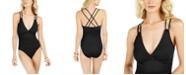 La Blanca Island Goddess Underwire Tummy-Control One-Piece Swimsuit