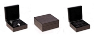 Bey-Berk High Lacquered Italian Veneer Watch Box with Storage For Up To 6 Watches