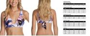 Raisins  Juniors' Road to Hana Miami Printed Bikini Top, Created for Macy's