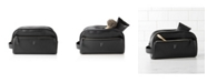 Cathy's Concepts Personalized Vegan Leather Double Zipper Dopp Kit