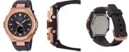 G-Shock Women's Solar Analog-Digital Brown Resin Strap Watch 38.7mm