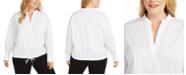 Alfani Plus Size Popover Shirt, Created for Macy's