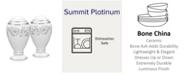 "Noritake Summit Platinum Salt & Pepper, 3-3/4"""