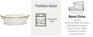 Noritake Trefolio Gold Covered Vegetable Bowl, 67 Oz.