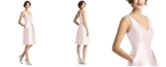 Alfred Sung V-Neck A-Line Dress