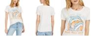 Hybrid Juniors' Don't Trash Splash Graphic T-Shirt