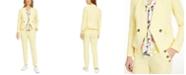 Bar III Collarless Jacket & Pants, Created for Macy's