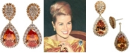 Grace Kelly Collection 18k Gold Plated Convertible Clip On Earring