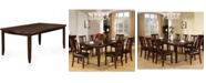 Furniture of America Marrowstone Solid Wood Dining Table