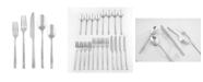 Cambridge Anu Textured Mirror 18/10 20-Piece Flatware Set, Service for 4