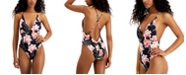 Roxy Juniors' Floral Printed One-Piece Swimsuit