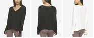 Felina Essentials Modal Rib V-Neck Top