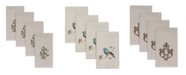 Avanti Hemmed Fingertip Towel 4 Piece Set Collection