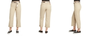 Dickies Juniors' Cropped High-Rise Pants
