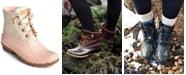 Sperry Women's Saltwater Duck Booties, Created for Macy's