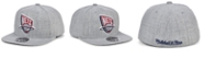 Mitchell & Ness New Jersey Nets Hardwood Classic Team Heather Fitted Cap