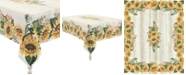 Laural Home Sunflower Day 70x84 Tablecloth