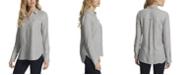 Jessica Simpson Women's Petunia Button Up Shirt