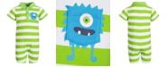 First Impressions Baby Boys Monster Pocket Cotton Sunsuit, Created for Macy's