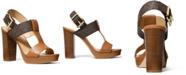Michael Kors Women's Becker T-Strap Slingback Sandals