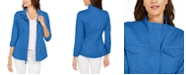 Style & Co Petite Cotton Utility Jacket, Created for Macy's