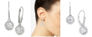 Macy's Diamond Round Drop Earrings in 14k White Gold, Yellow Gold or Rose Gold (1/2 ct. t.w.)