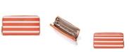 kate spade new york Spencer Stripe Zip Around Continental Wallet