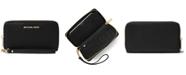 Michael Kors Mercer Leather Multi Function Phone Wristlet