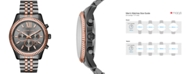 Michael Kors Men's Chronograph Lexington Two-Tone Stainless Steel Bracelet Watch 44mm MK8561