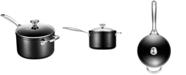 Le Creuset Toughened Non-Stick 4-Qt. Saucepan & Cover