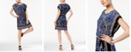 INC International Concepts I.N.C. Petite Printed Blouson Dress, Created for Macy's
