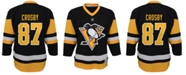 Authentic NHL Apparel Sidney Crosby Pittsburgh Penguins Player Replica Jersey, Little Boys (4-7)