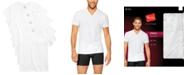 Hanes Men's 4-Pk. Platinum Stretch V-Neck T-Shirts